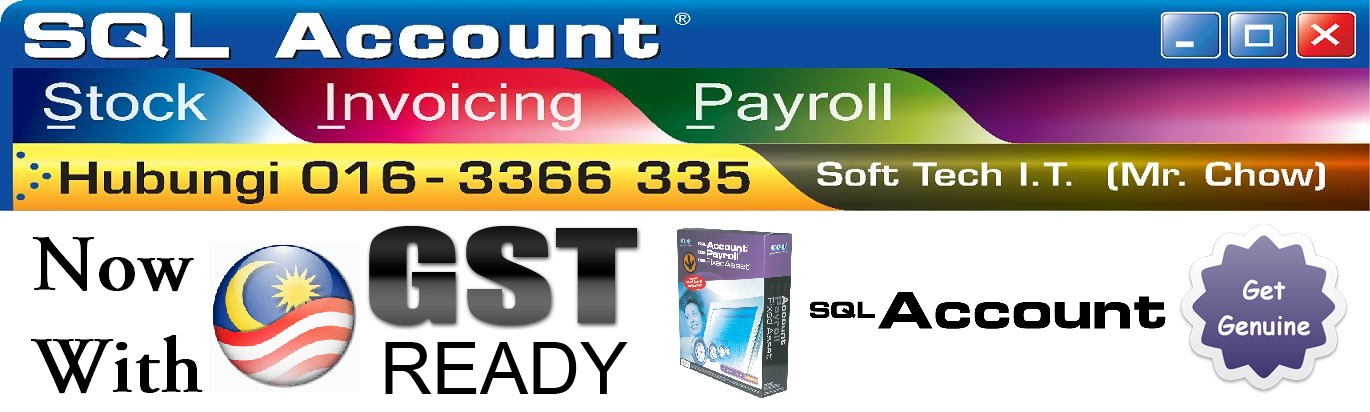 SQL Accounting GST Ready